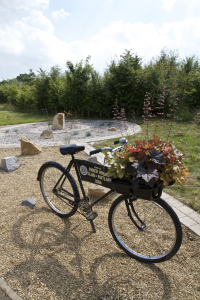 The new Inner Wheel Club garden on the Uppingham Road part of the bypass