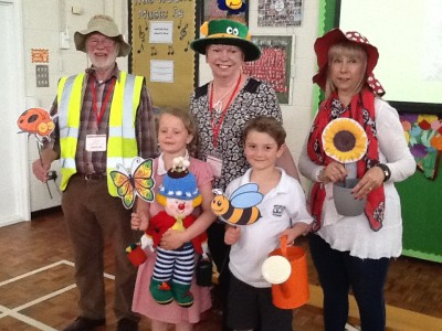 Oakham In Bloom at Brooke Hill Academy's Assembly