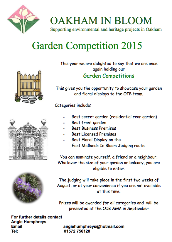 Local Garden Competitions 2015