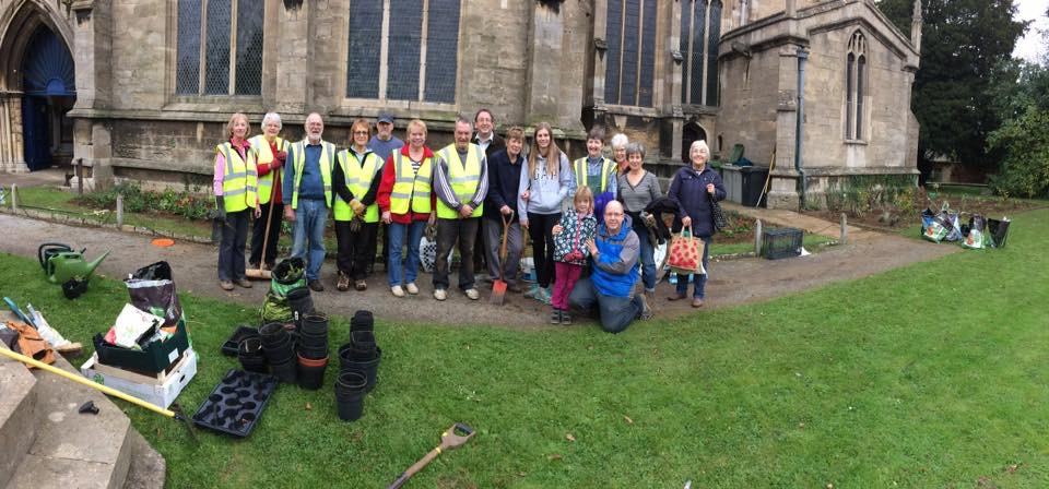 Volunteers at All Saints Church